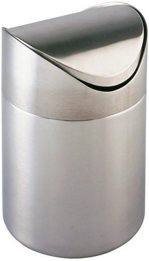 WENKO Kosmetikeimer »Otranto«, 3 Liter, Edelstahl rostfrei
