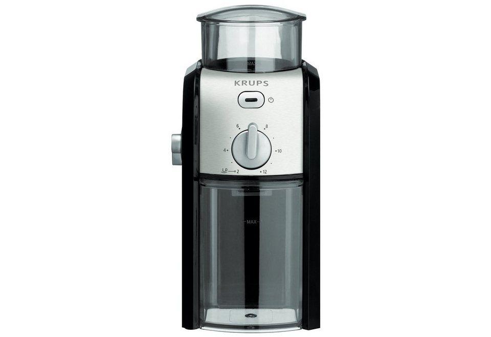 Krups Kaffee-Espresso-Mühle GVX242, 100 Watt