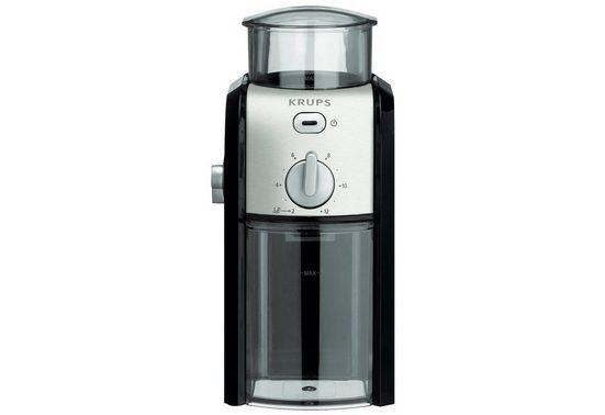 Krups Kaffeemühle GVX242, 110 W, Schlagmahlwerk, 200 g Bohnenbehälter