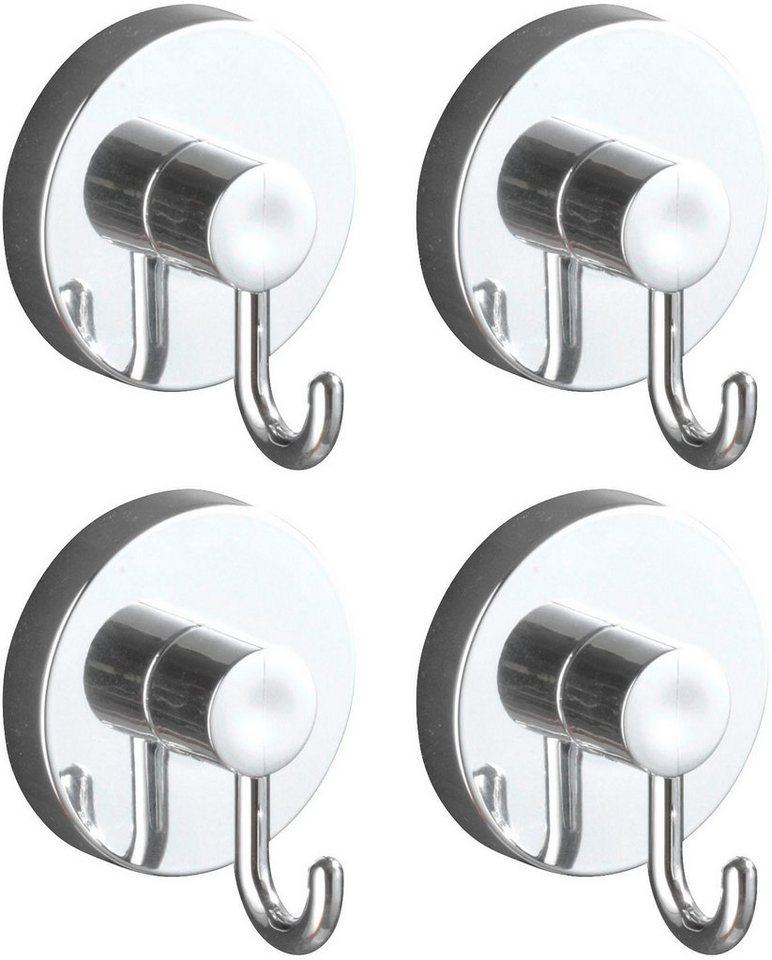 WENKO Handtuchhalter Vacuum Loc Haken 4er Set