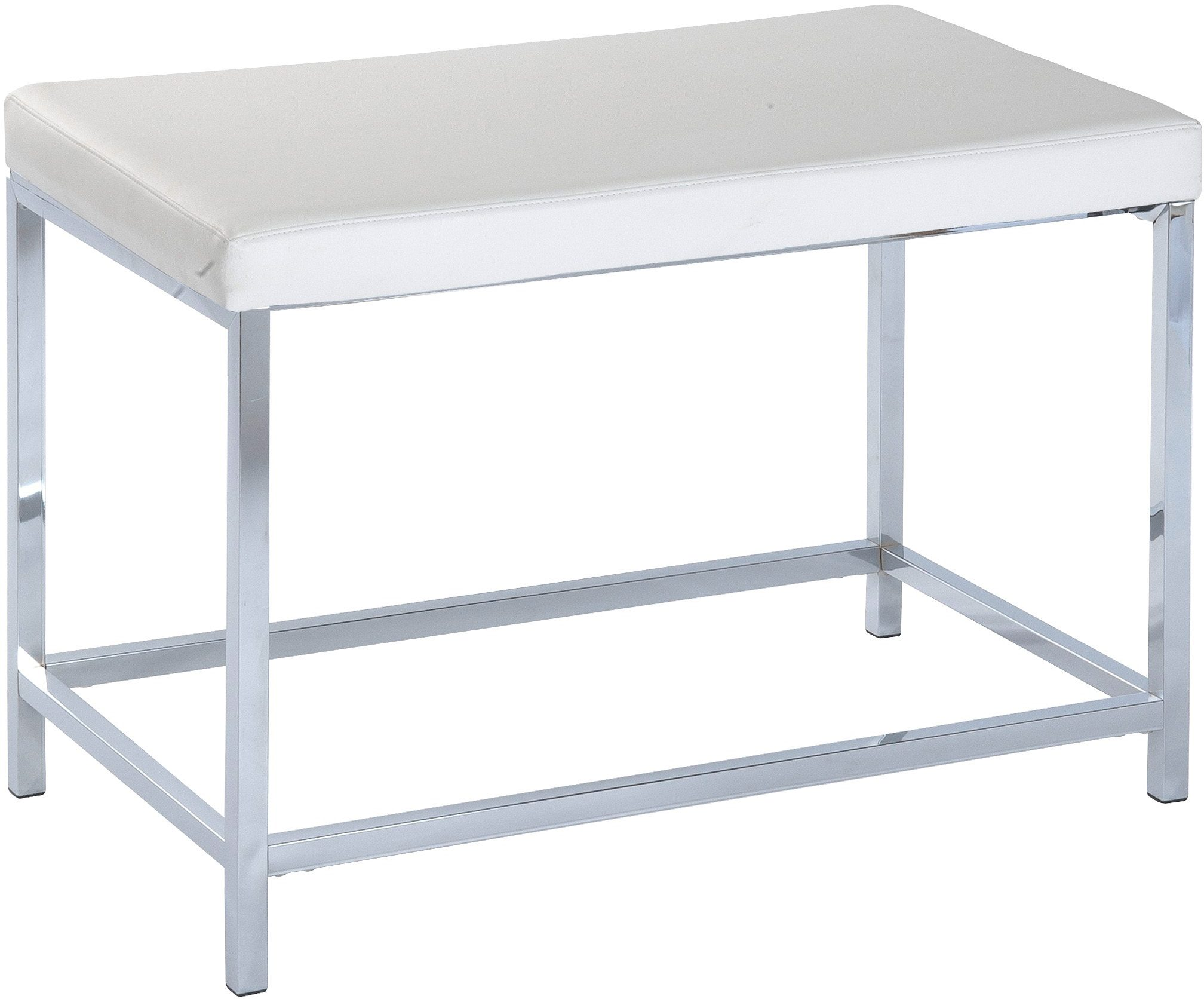 WENKO Hocker Deluxe Long White, Badhocker