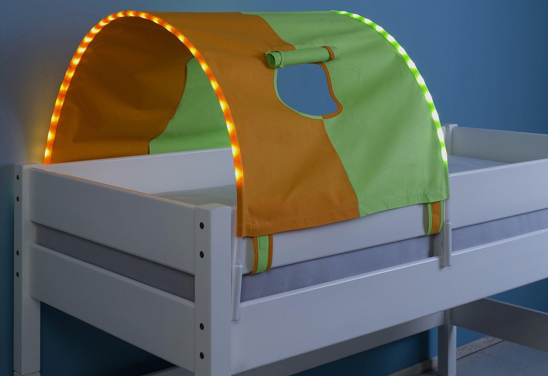 Relita LED-Tunnel   Kinderzimmer > Kinderbetten > Baldachine & Tunnels   Stoff - Baumwolle   Relita