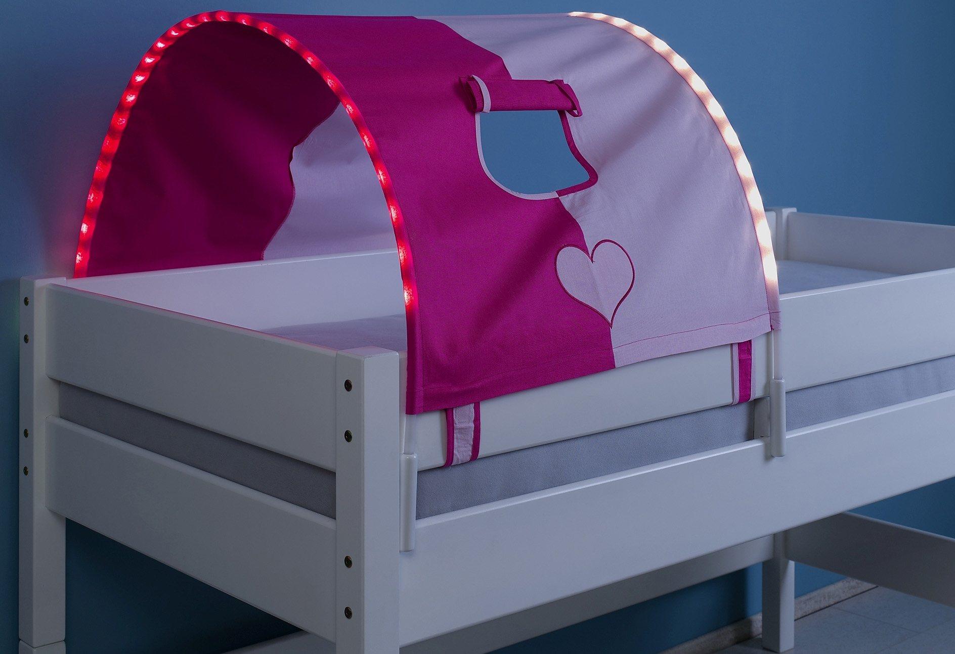 Relita LED-Tunnel | Kinderzimmer > Kinderbetten > Baldachine & Tunnels | Stoff - Baumwolle | Relita
