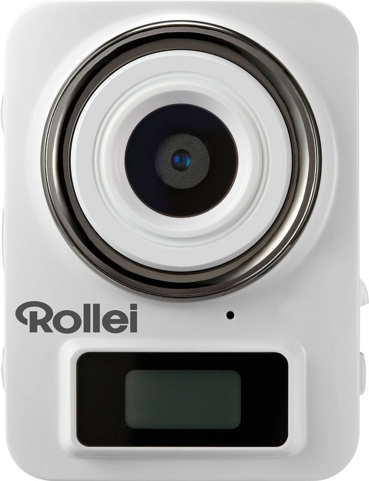 Rollei ADD EYE 1080p (Full HD) Camcorder, WLAN in weiß
