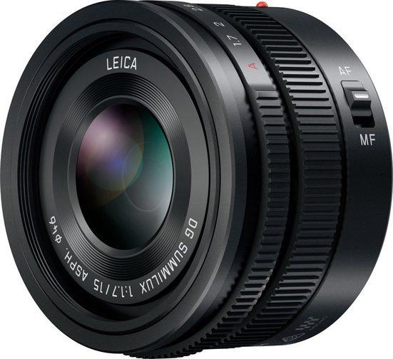 Lumix Panasonic »H-X015E« Festbrennweiteobjektiv