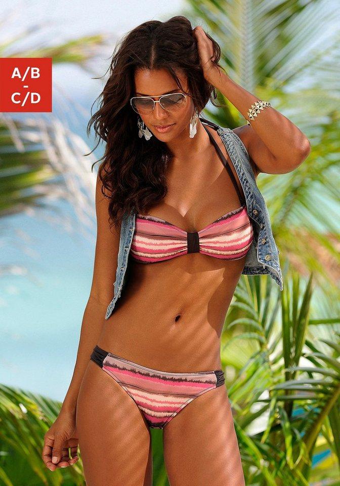 Bandeau-Bikini, Jette in hummer-braun