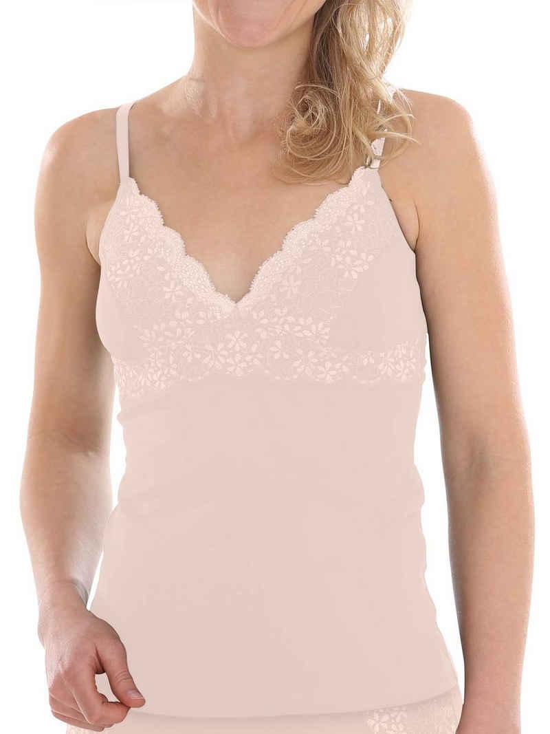COMAZO BH-Hemd »Damen BH Hemdchen« (1-tlg) Vegan