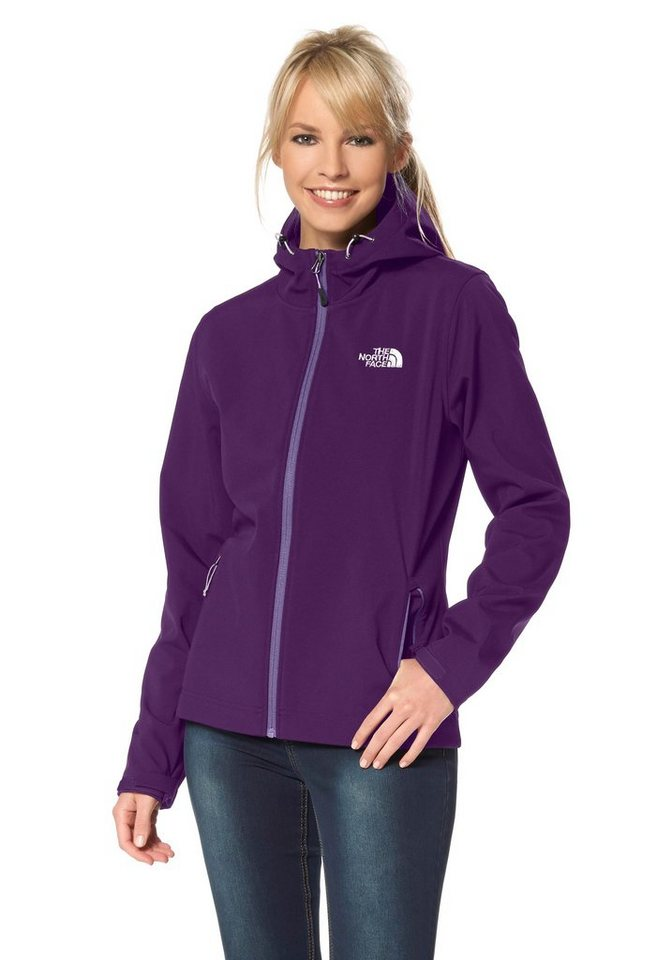 The North Face Ontario Softshelljacke in Lila