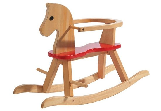 Roba® Schaukelpferd, aus Holz