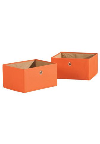 ROBA ® Daiktadežė »Canvas-Boxen orange« (Ri...