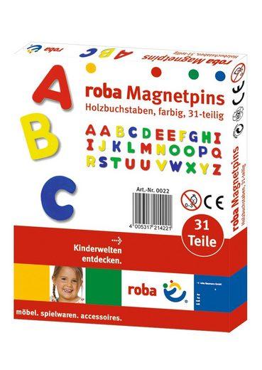 roba® Magnet »Magnetbuchstaben« (31-St)
