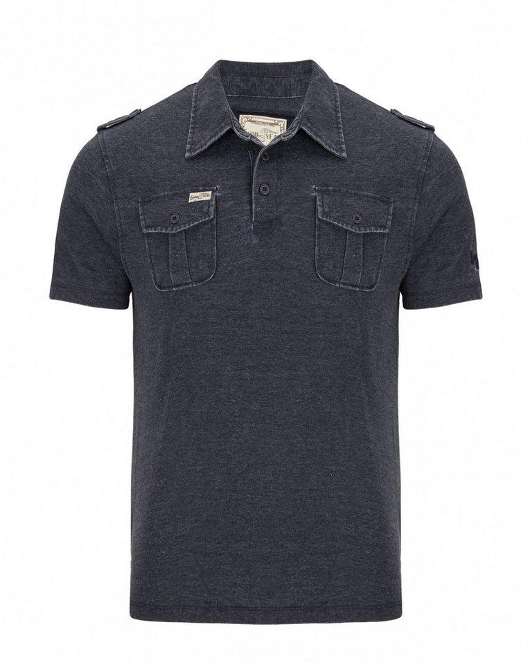 Goodyear Poloshirt »CINCINNATI« in Vintage Navy