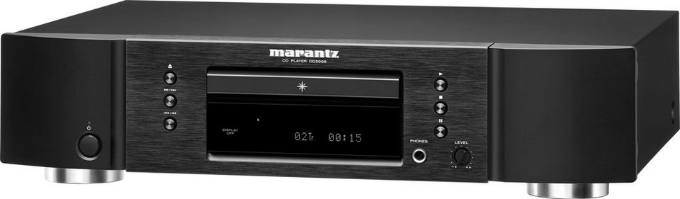 Marantz CD5005 CD PLAYER in schwarz