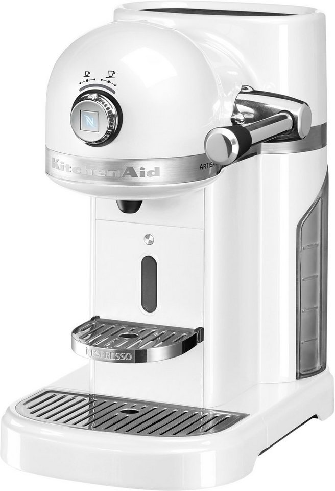 Kitchenaid Nespresso KitchenAid 5KES0503EFP, frosted pearl in frosted pearl