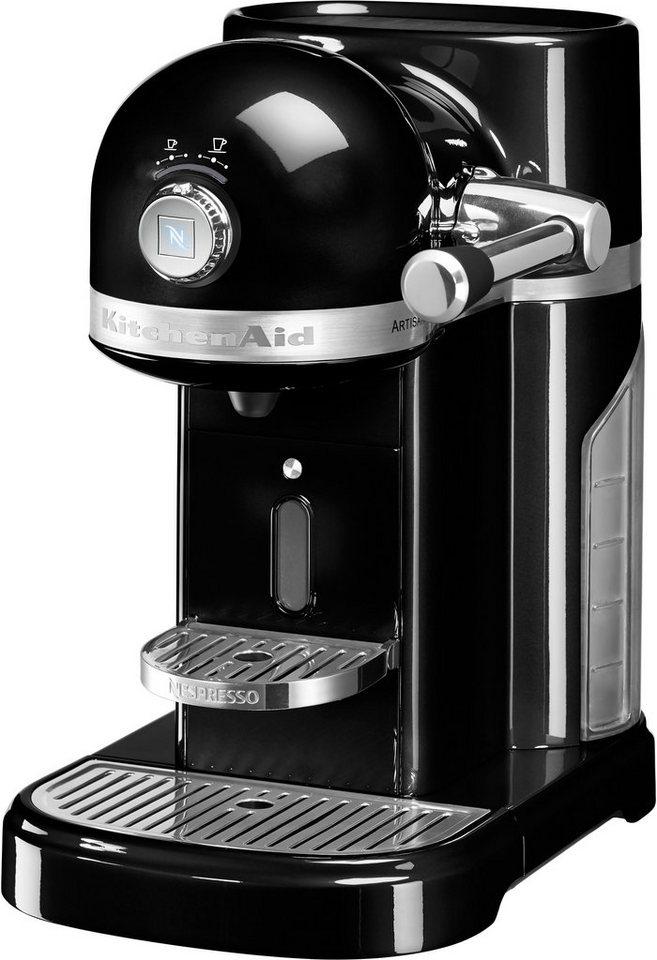 Kitchenaid Nespresso 5KES0503EMOB, onyx schwarz in onyx schwarz