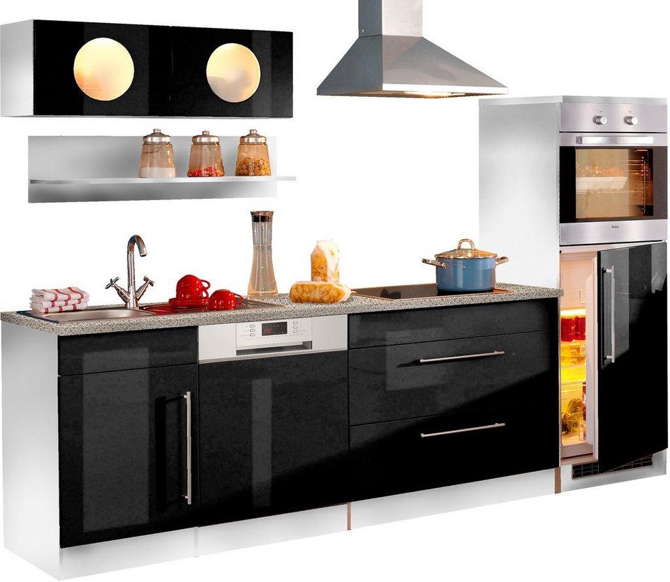 HELD MÖBEL Küchenzeile »Keitum«, Breite 270 cm | OTTO