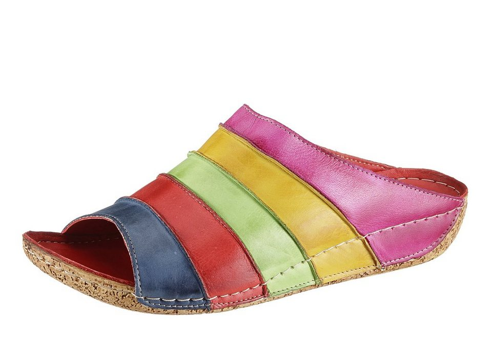 Pantolette, Hush Puppies in multicolor