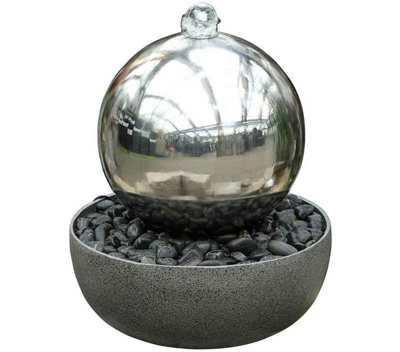 Dehner Gartenbrunnen »Globe mit LED-Beleuchtung, Ø 45 cm, Höhe 52 cm«