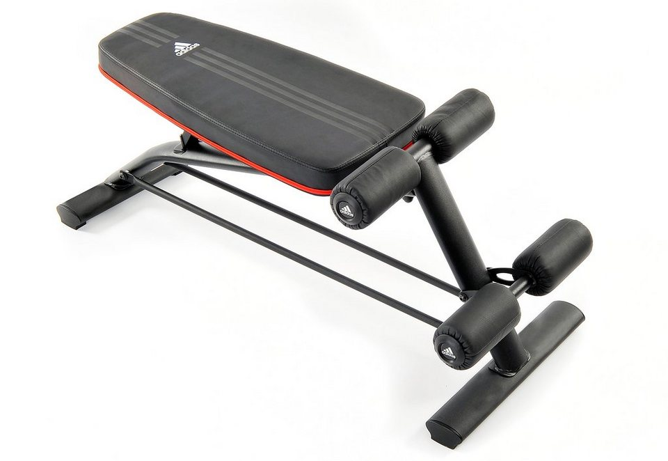 Trainingsbank, »Adjustable Ab Bench«, adidas Performance in schwarz