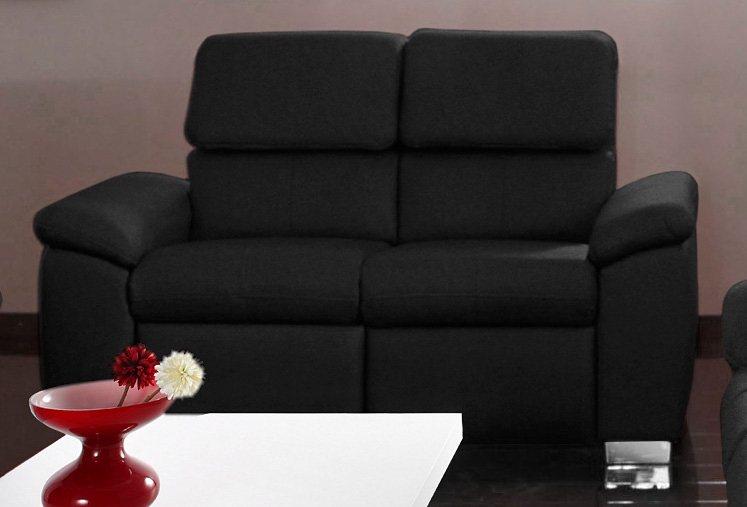 2-Sitzer, wahlweise mit Funktion in schwarz