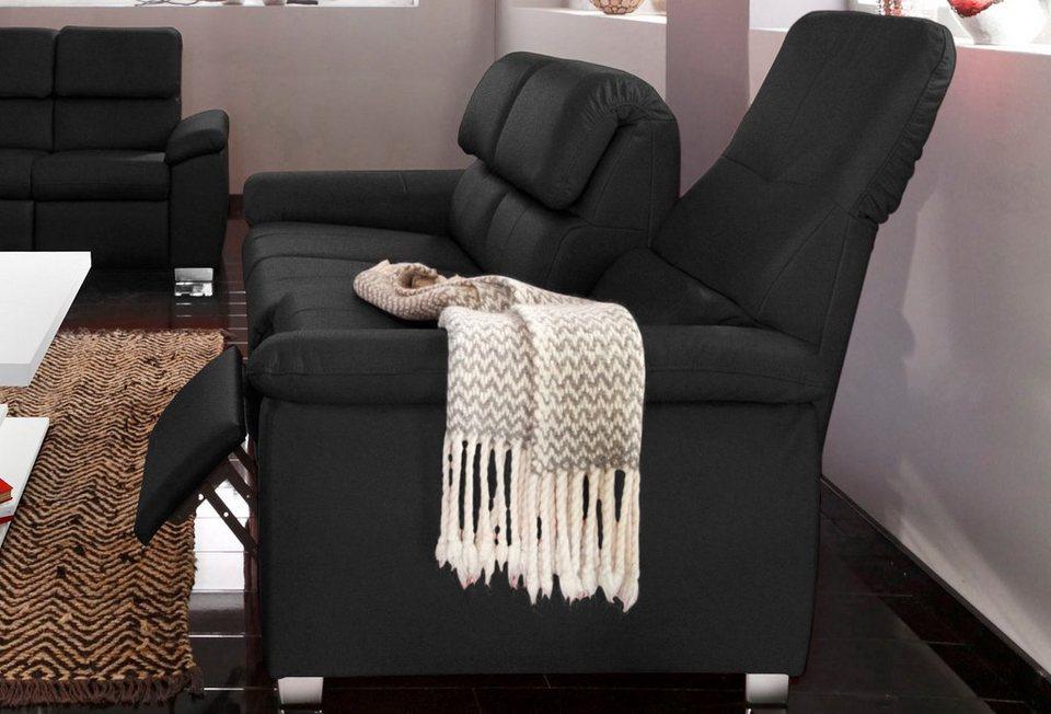 3-Sitzer, wahlweise mit Funktion in schwarz