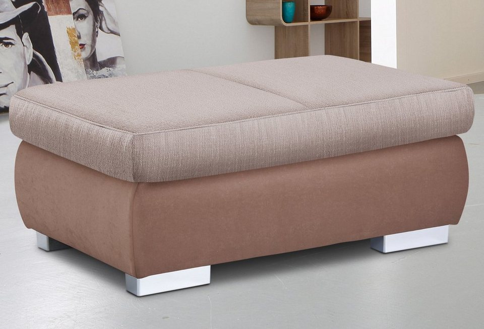Hocker, Sit & More in braun/beige