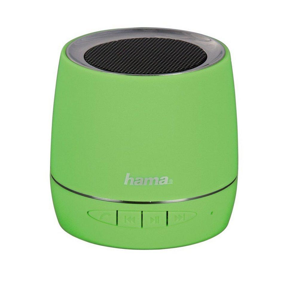 Hama Mobiler Bluetooth-Lautsprecher, Grün in Grün