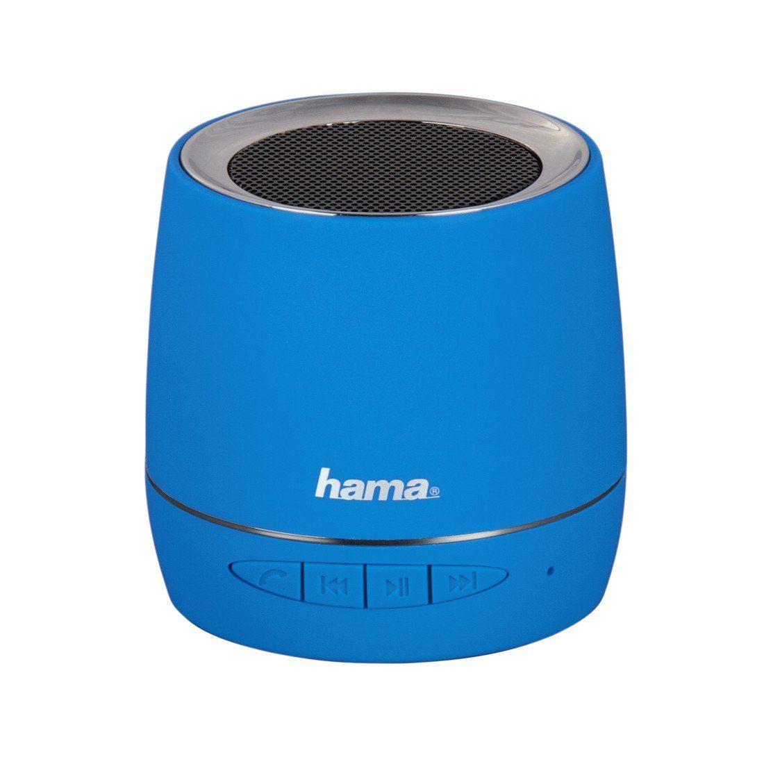 Hama Mobiler Bluetooth-Lautsprecher, Blau