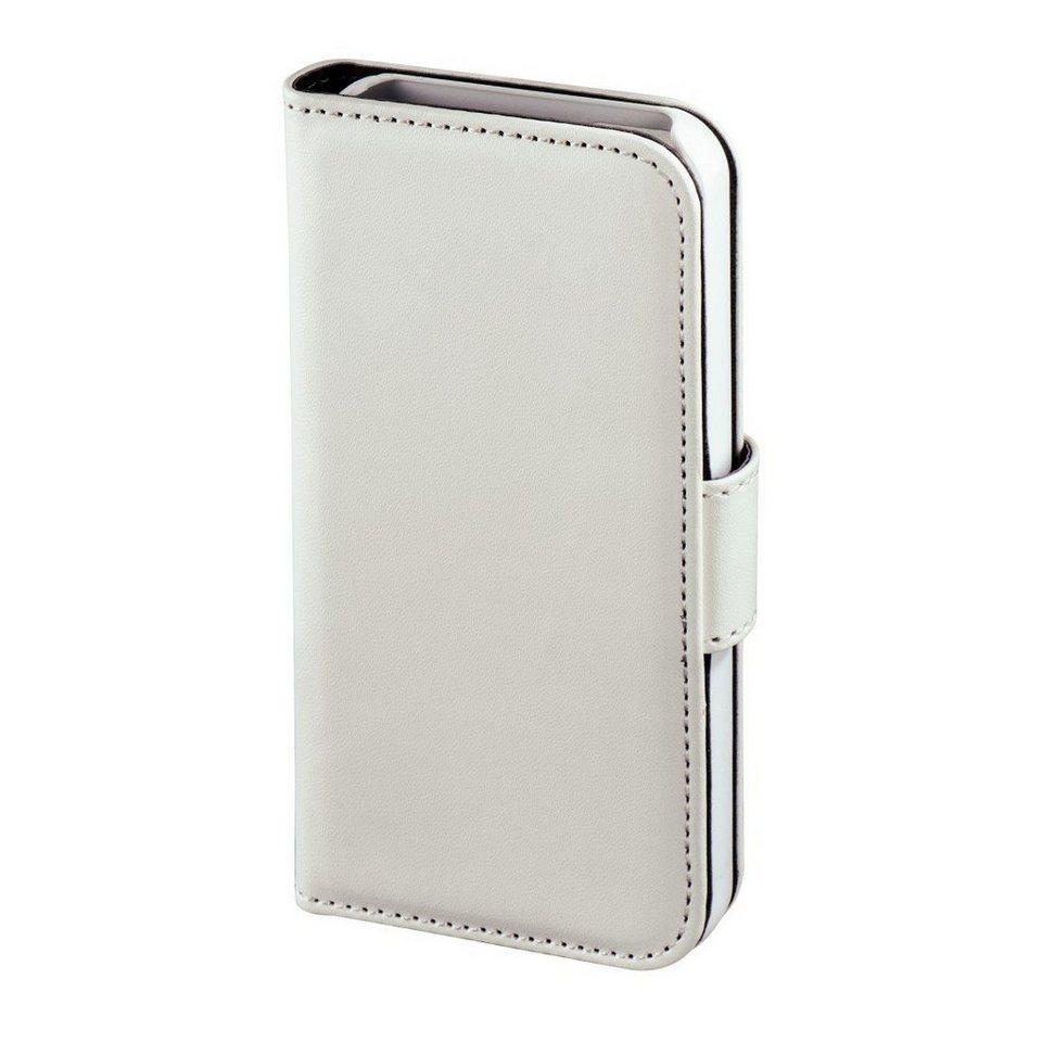 Hama Booklet Diary Case für Apple iPhone 4/4S, Weiß in Weiß