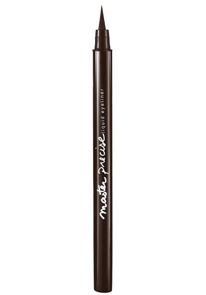 Maybelline New York, »Master Precise Liquid Liner«, Eyeliner in Forest Brown