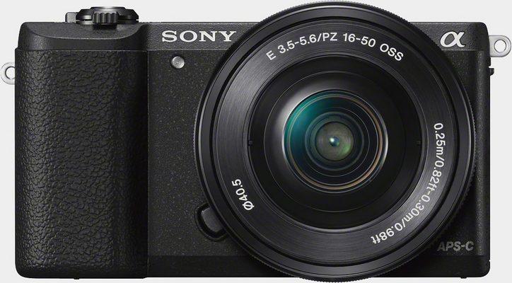 Sony »Alpha ILCE-5100L« Systemkamera (SEL-P1650, 24,3 MP, WLAN (Wi-Fi), NFC, Unterstützt PlayMemories Camera Apps, Eye-AF)