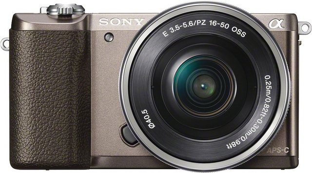 Systemkameras - Sony »a5100 ILCE 5100L« Systemkamera (SEL P1650, 24,3 MP, WLAN (Wi Fi), NFC)  - Onlineshop OTTO