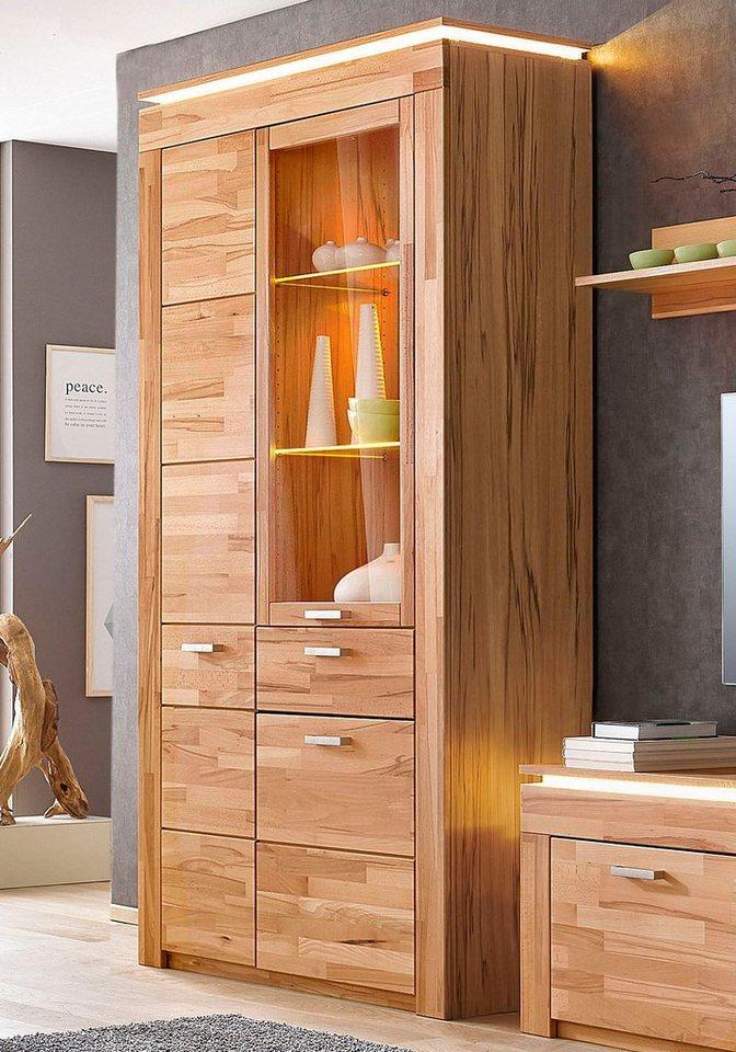 vitrine h he 209 cm online kaufen otto. Black Bedroom Furniture Sets. Home Design Ideas