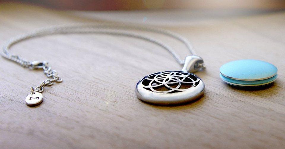 Misfit Halskette »Bloom für Shine« in Silber