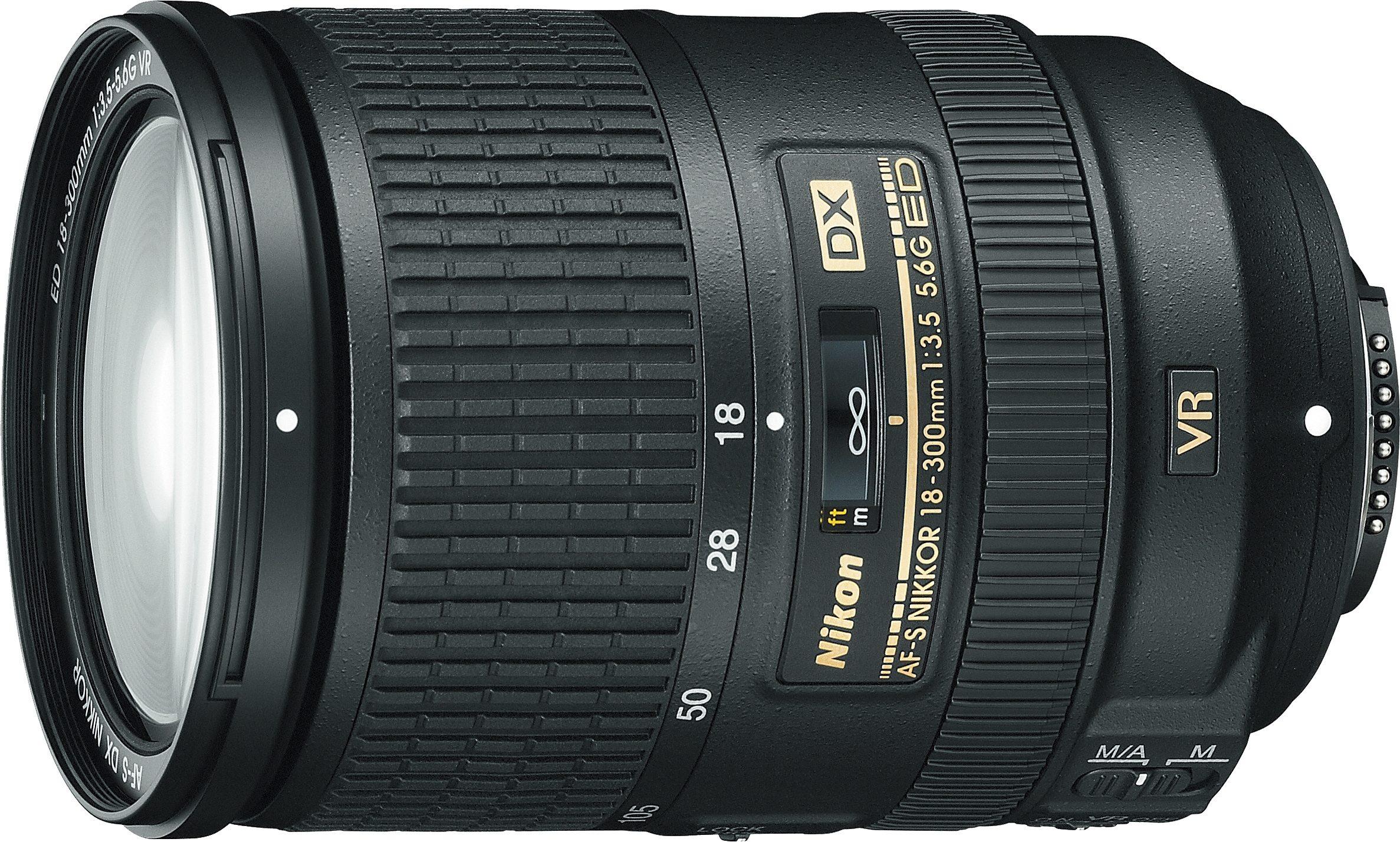 Nikon AF-S DX NIKKOR 18–300 mm 1:3,5–5,6G ED VR Standardzoom Objektiv