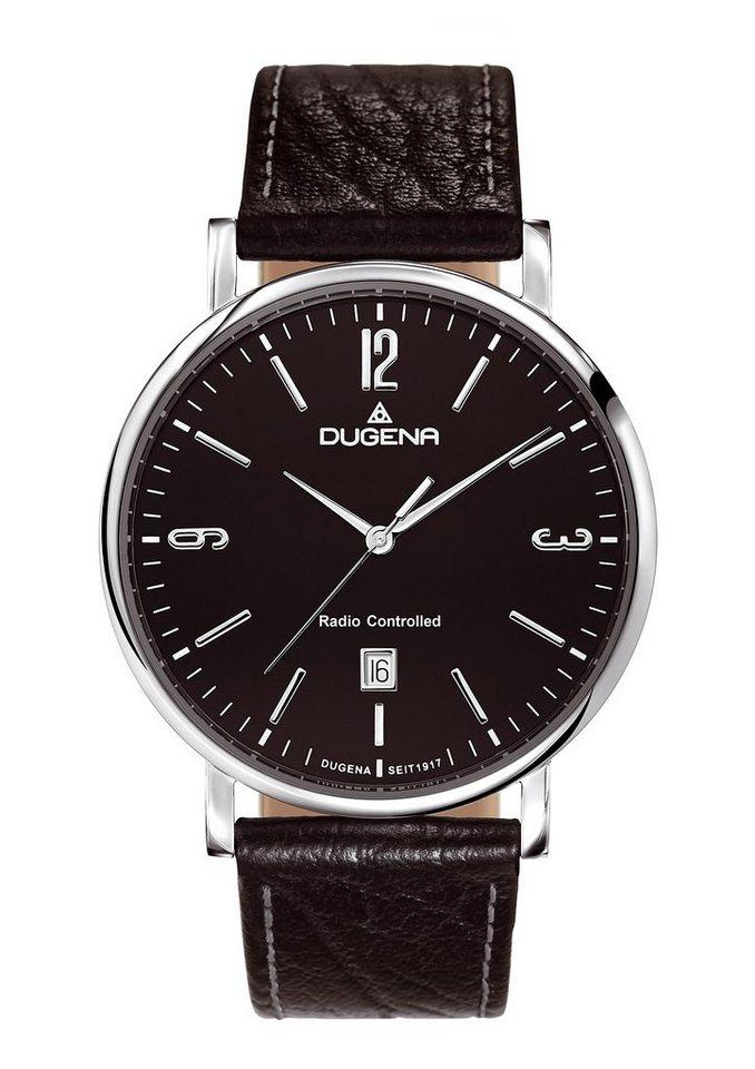 Dugena Funkuhr »4460556« in schwarz