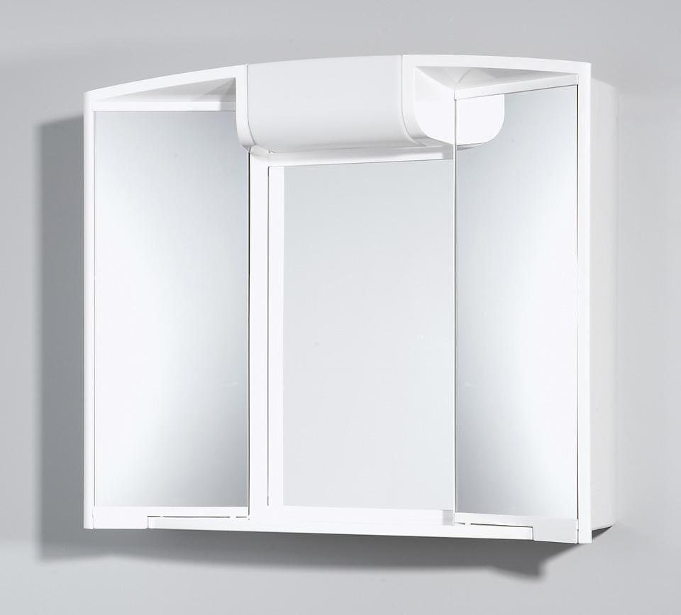 Spiegelschrank »Angy« Breite 59 cm, mit Beleuchtung in weiß