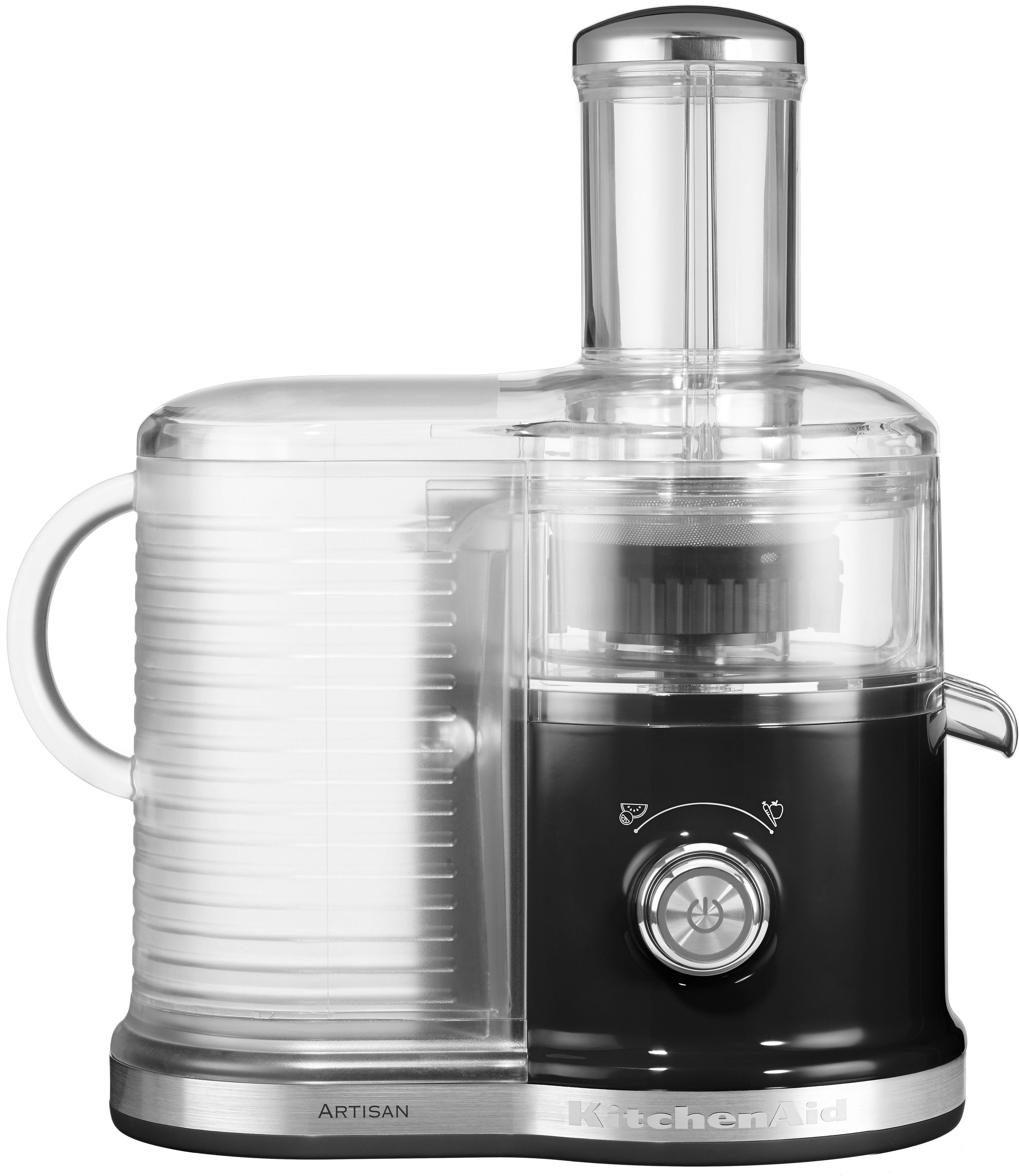KitchenAid Artisan Zentrifugal Entsafter 5KVJ0333EOB, onxy schwarz, 520 Watt