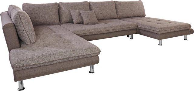 sit&more Wohnlandschaft| wahlweise mit Bettfunktion | Wohnzimmer > Sofas & Couches > Wohnlandschaften | Braun | sit&more