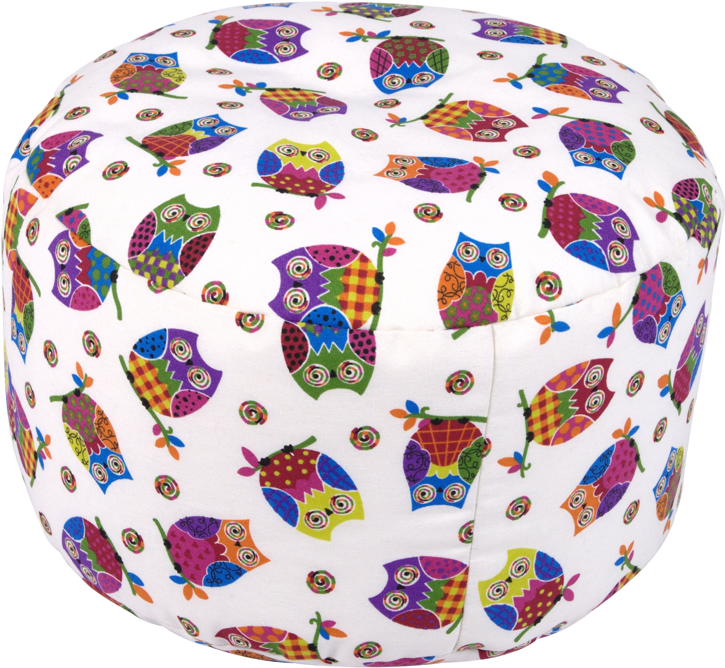 Pouf, Home affaire, »Eulen« | Wohnzimmer > Hocker & Poufs > Poufs | Polyester - Stoff | Home affaire