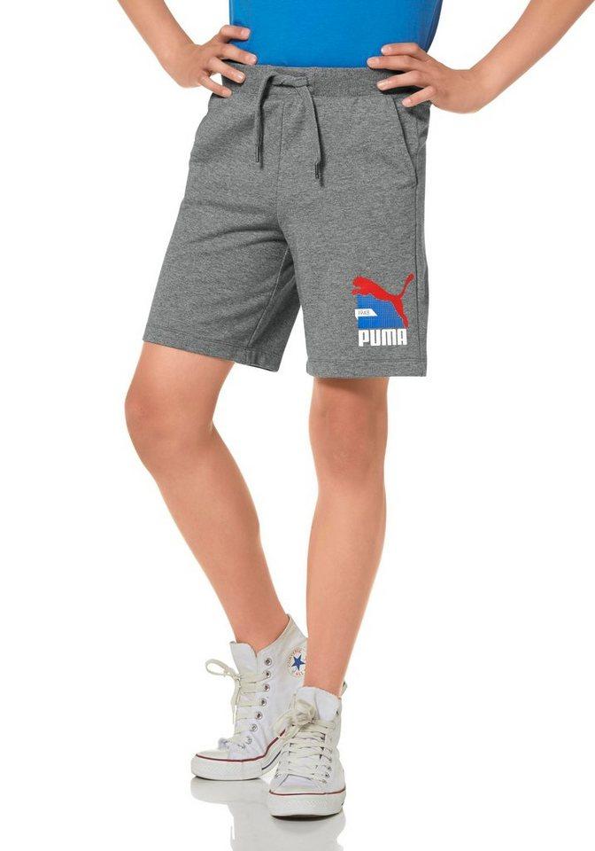 PUMA Shorts in Grau