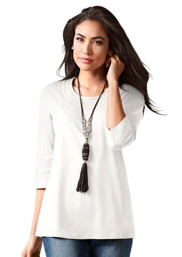 Classic Basics Shirt With A 3/4-sleeveless