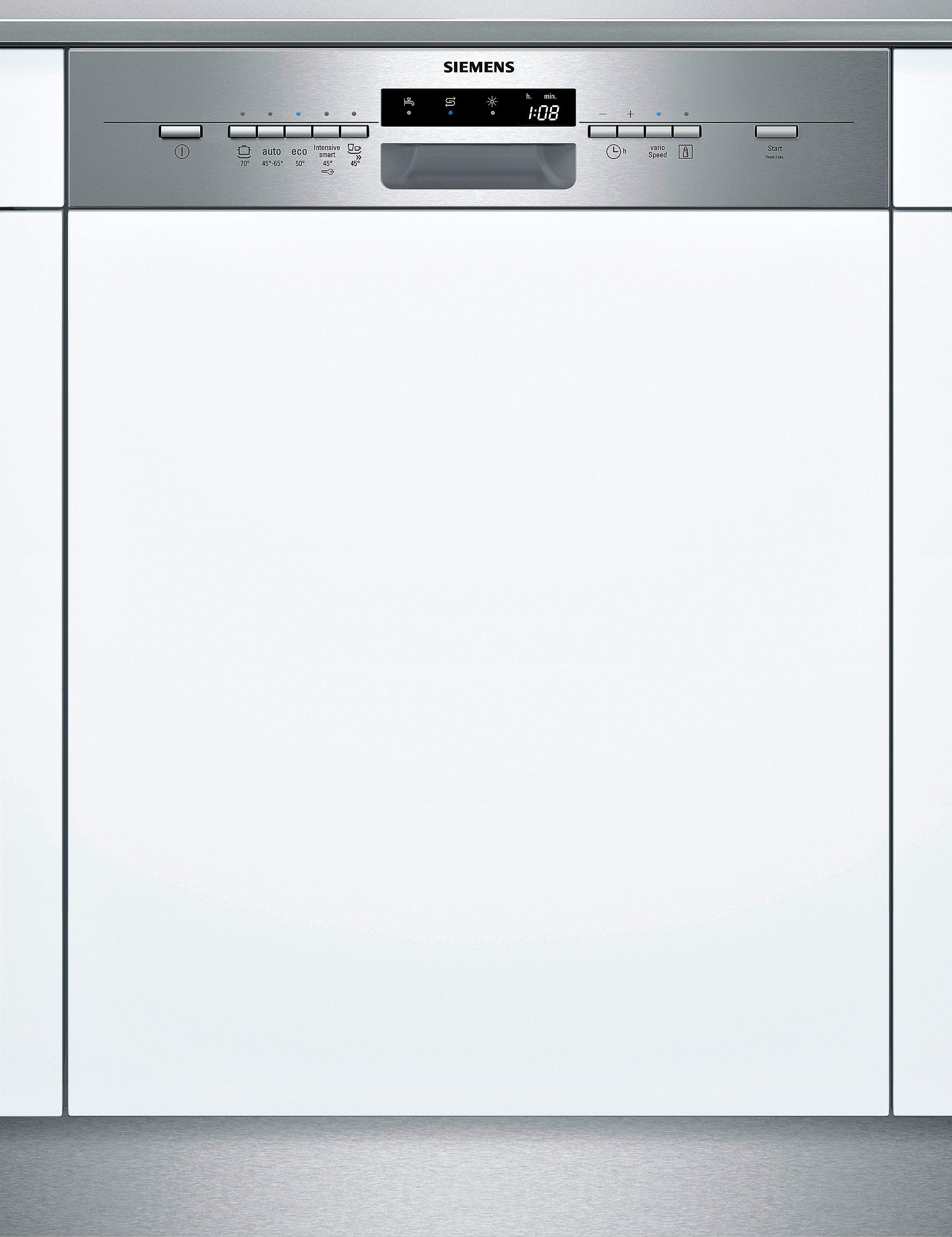Siemens integrierbarer Einbaugeschirrspüler SX55L581EU, A++, 10 Liter, 13 Maßgedecke