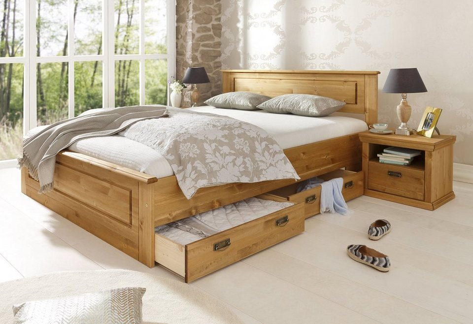 bett home affaire madrid online kaufen otto. Black Bedroom Furniture Sets. Home Design Ideas