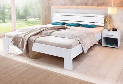 bett mit lattenrost und matratze cheap doppelbett hasena bett komplett with bett mit lattenrost. Black Bedroom Furniture Sets. Home Design Ideas