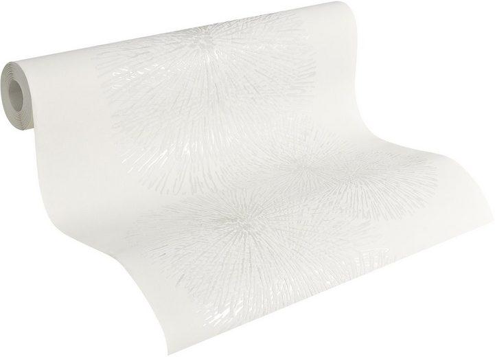 vliestapete sch ner wohnen mustertapete graphic flowers online kaufen otto. Black Bedroom Furniture Sets. Home Design Ideas