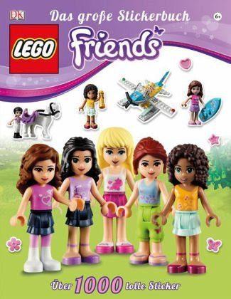 Broschiertes Buch »LEGO® Friends Das große Stickerbuch«