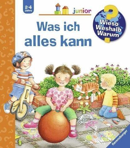 Buch mit Papp-Einband »Was ich alles kann / Wieso? Weshalb? Warum?...«