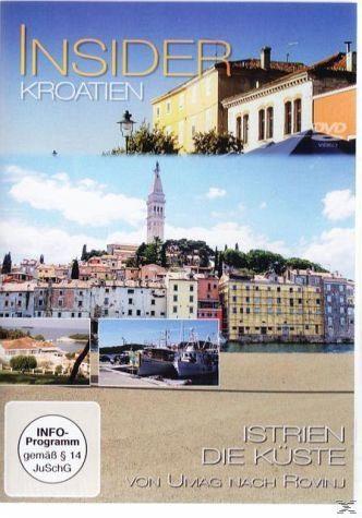 DVD »Insider: Kroatien - Istrien Westküste«