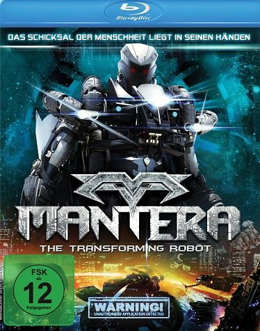 Blu-ray »Mantera - The Transforming Robot«